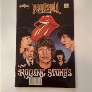 1989 Rock n Roll Rolling Stones Comic